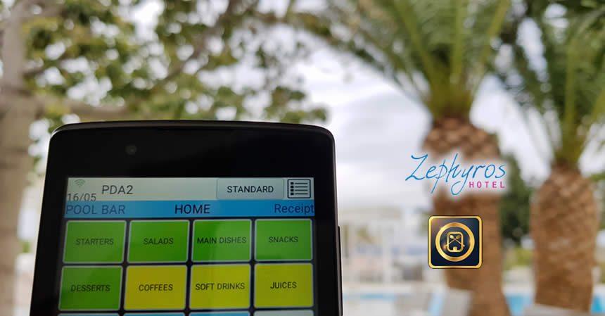 Εγκατάσταση symPOSium Web POS στο Zephyros Hotel