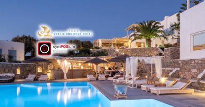 Εγκατάσταση symPOSium Web POS στο Vencia Boutique Hotel